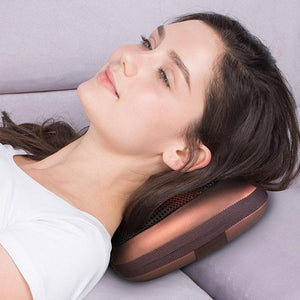 Premium Heated Shiatsu Massager Pillow