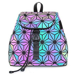 LumiPack - Geometric Luminous Backpack