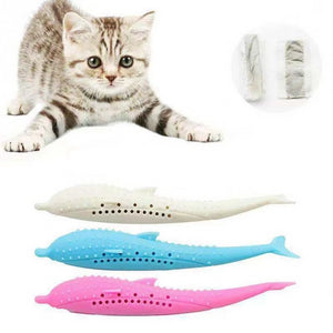 PerfectTeeth - The World's First Toothbrush Toy For Cats With A Free Catnip