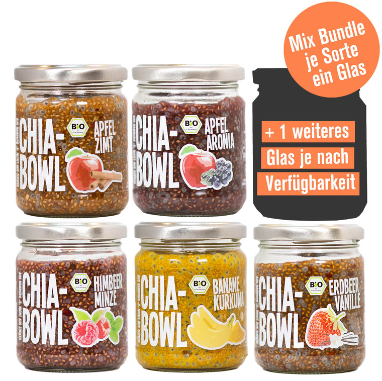 Bio Chia-Bowl Mix | 6er Bundle