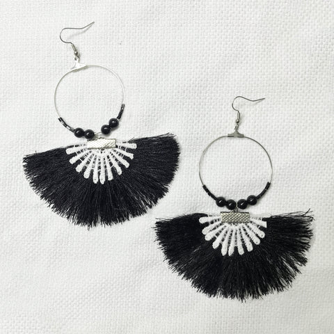 FREDY Fan Earrings