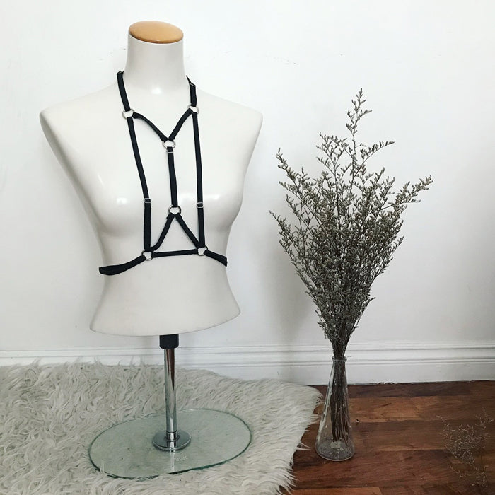 BRANDY Harness - Black Hearted
