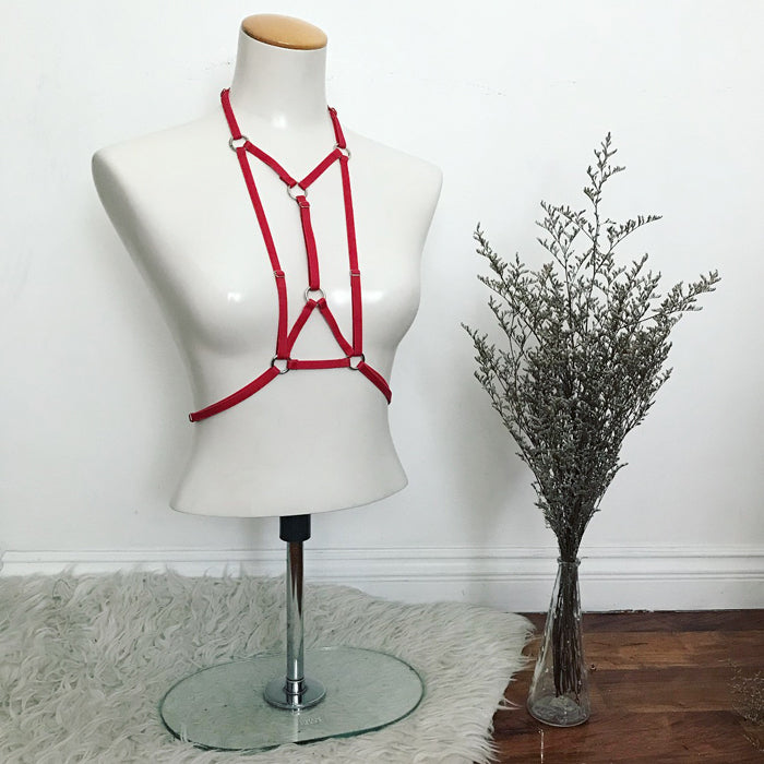 BRANDY Harness - Blood Red