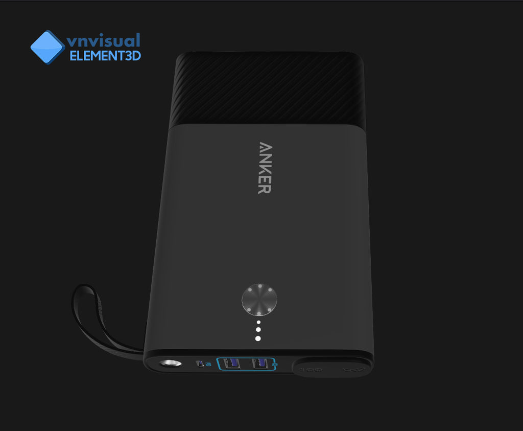 E3D - Anker Powerhouse 100 Portable Battery Pack with AC