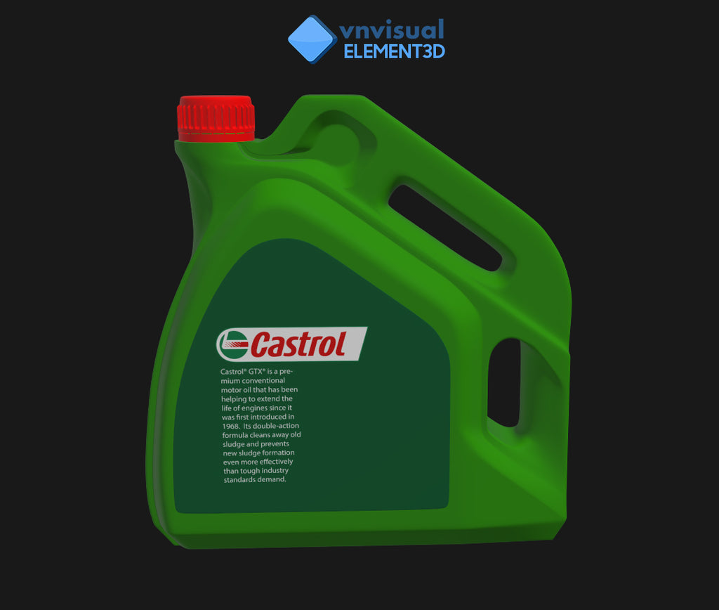 E3D - Castrol GTX Engine Oil 15W-40 A3B3 4L