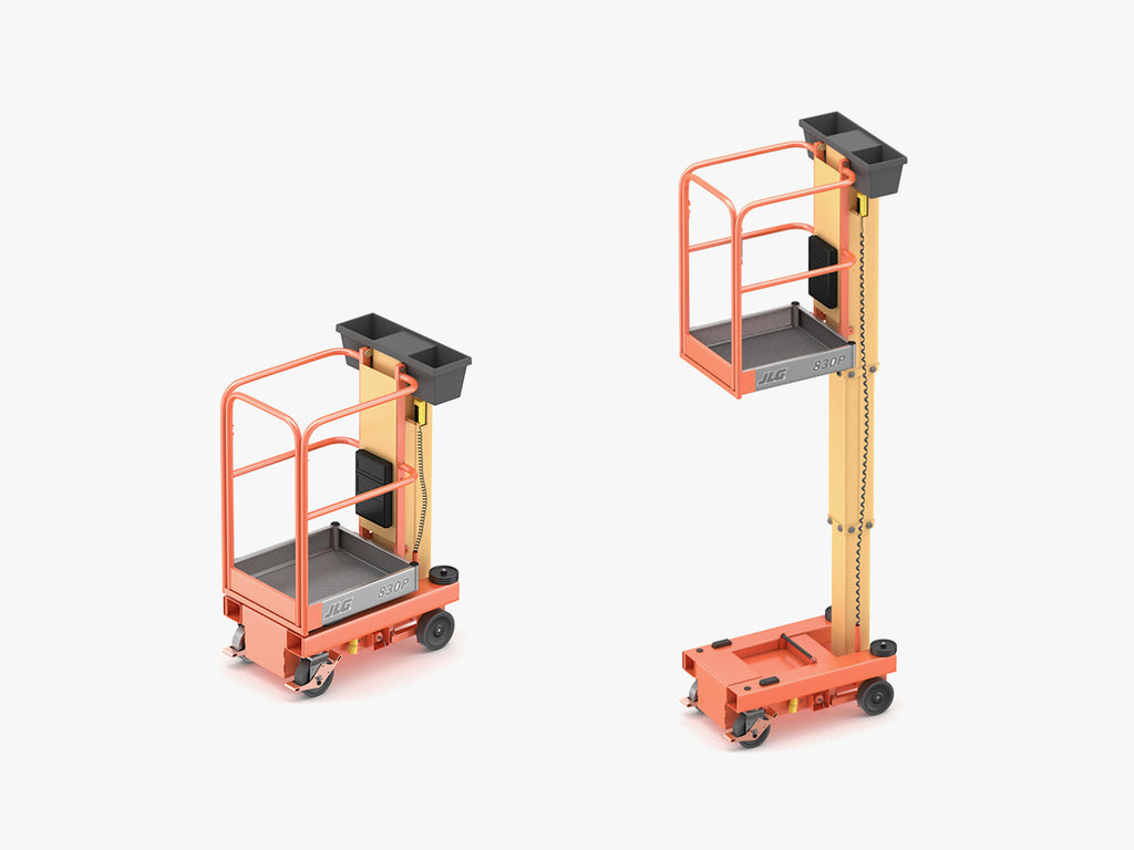 JLG 830P Push Around Mast Liff