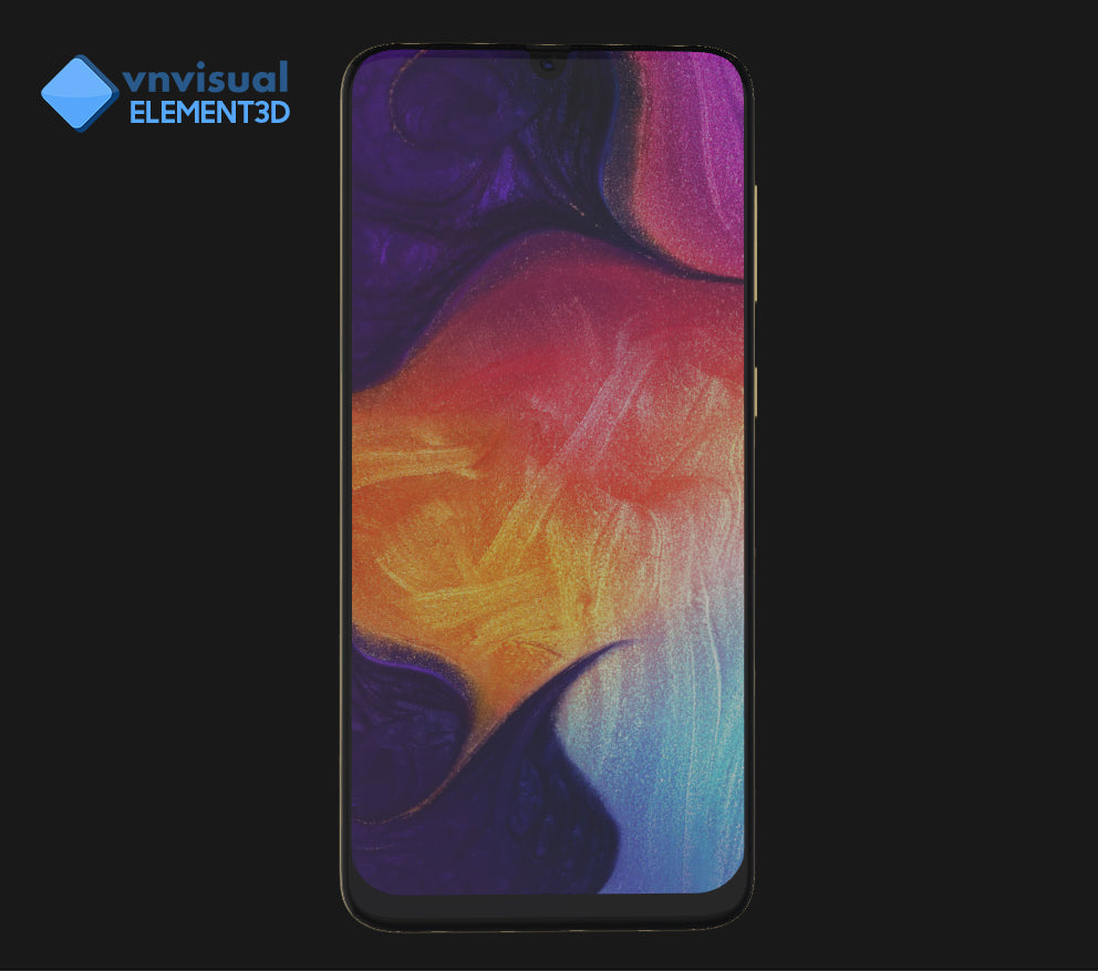 E3D - Samsung Galaxy A50 Black
