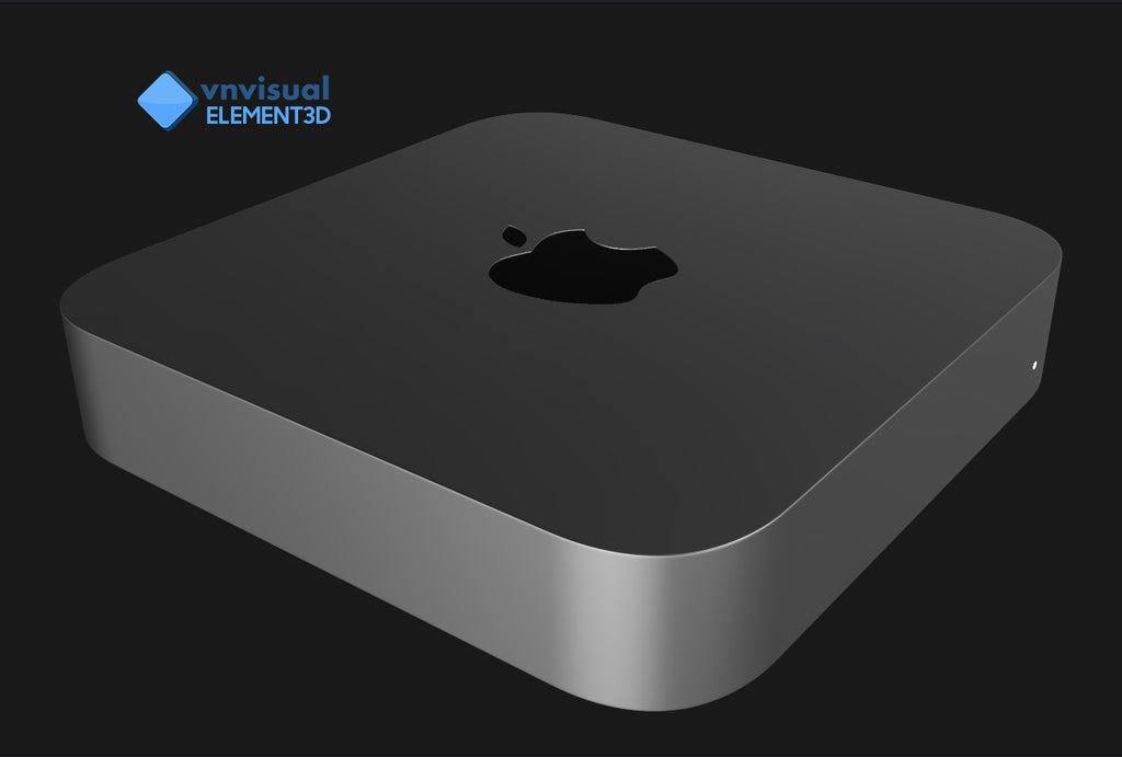 E3D - Apple Mac Mini 2018