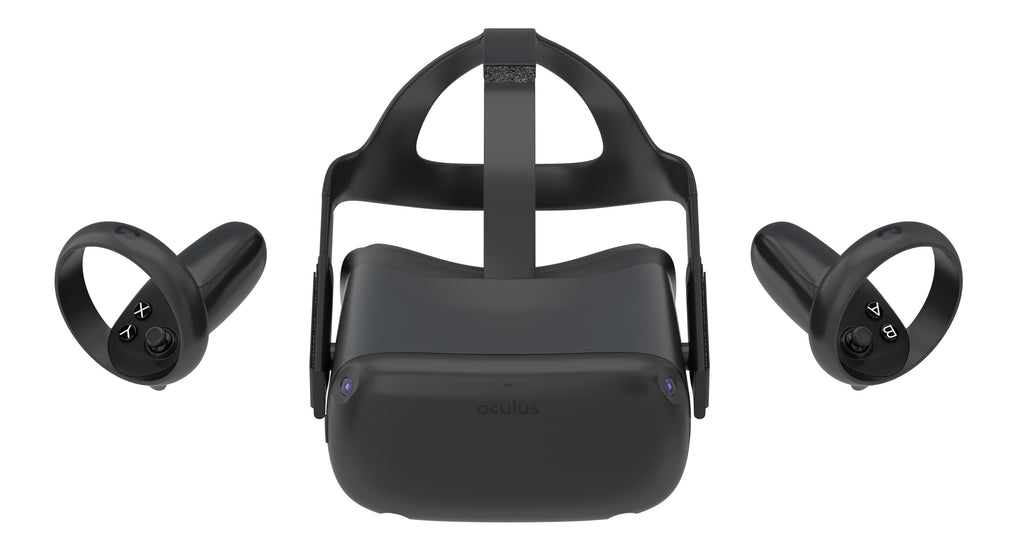 Oculus Quest Controller and Headset