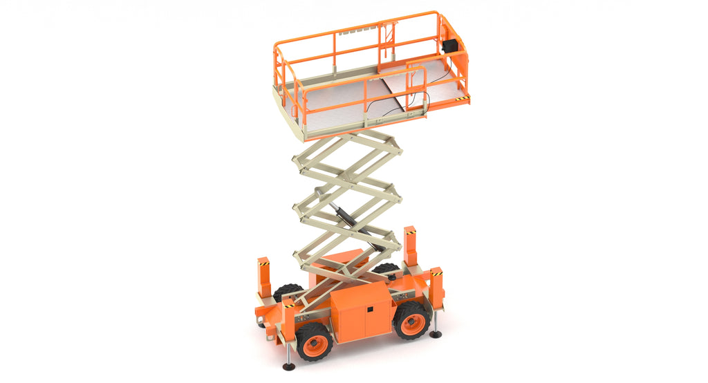 JLG Engine Powered Scissor Lift 260MRT