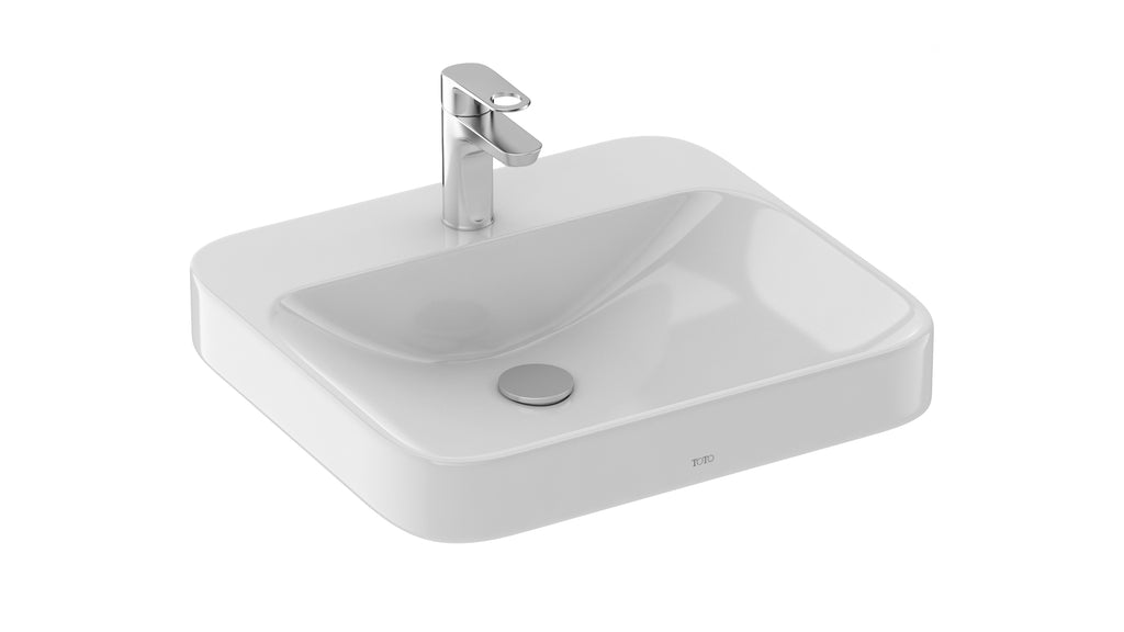 TOTO ARVINA RECTANGLE VESSEL LAVATORY Small