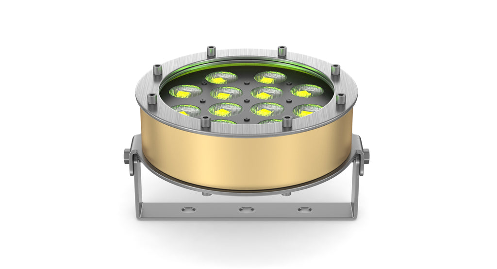 DTS LED Underwater Helios Bronze 12 FC with Stands