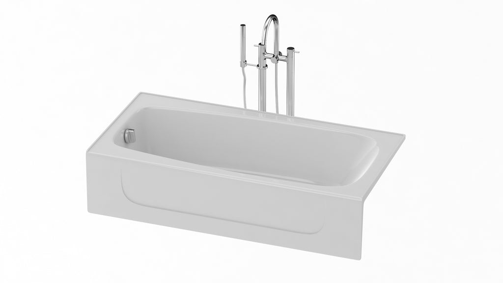 TOTO Enameled Cast Iron Bathtub