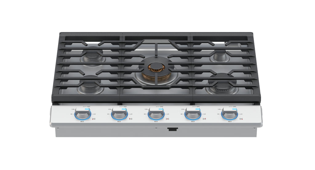 Samsung 30 Inch Gas Cooktop with 22K BTU True Dual Power Burner