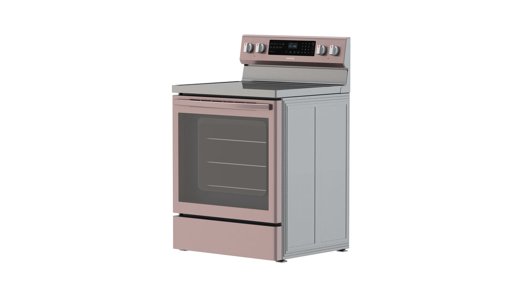 Samsung 5.9 cu. ft. True Convection Freestanding Electric Range in Tuscan Stainless Steel