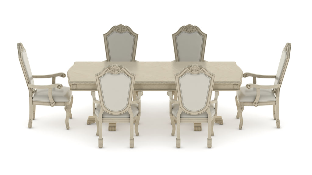 Suzi 7 Pieces Extendable Dining Set Astoria Grand Table