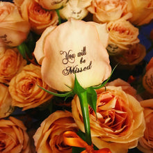 Sympathy Roses Bouquet with any Standard Phrase
