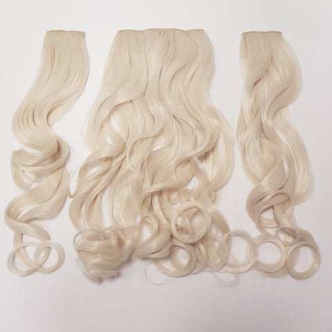 3 Piece Hair Extension - Curly