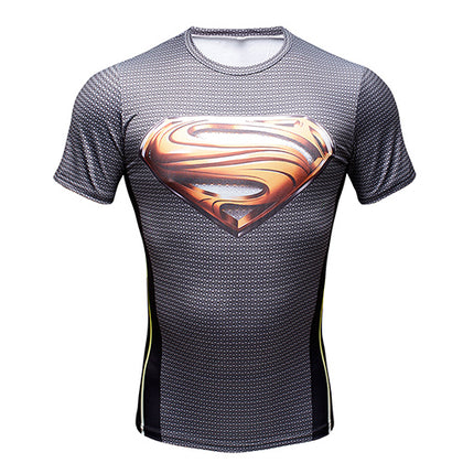 Compression Shirt Superman Gold
