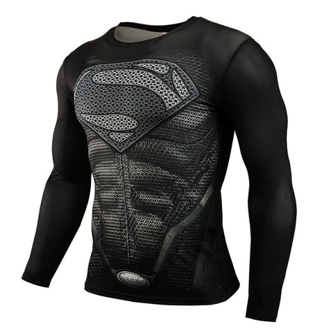 Compression Superman Black