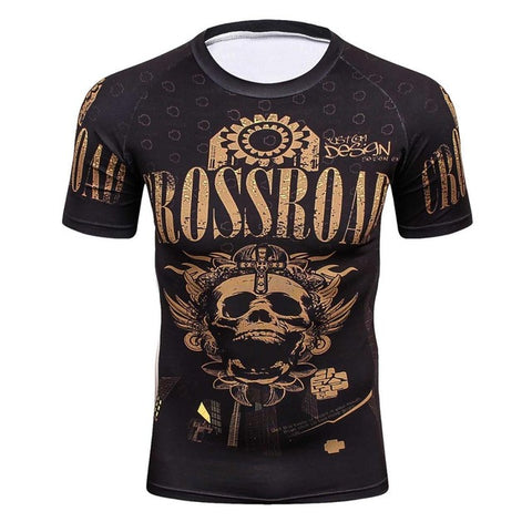 Compression T-Shirt Skull