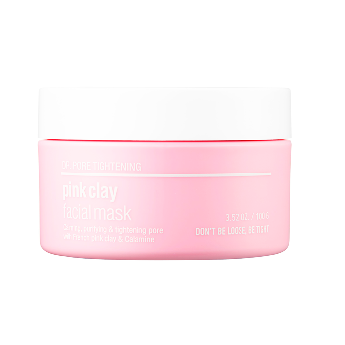 SKIN&LAB - Pink Clay Facial Mask - 100gr