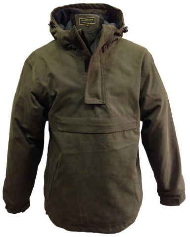 Regents View Padded Waxed Cotton Jacket - Olive