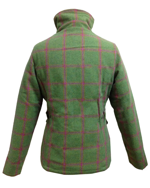 Regents View Women Premium Tweed Jacket - Green
