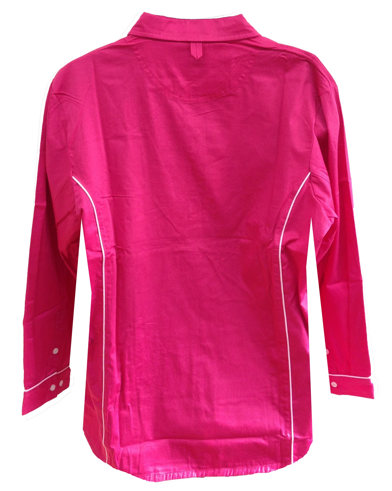 Regents View Women Lightweight Long Sleeve Summer Shirt - Pink