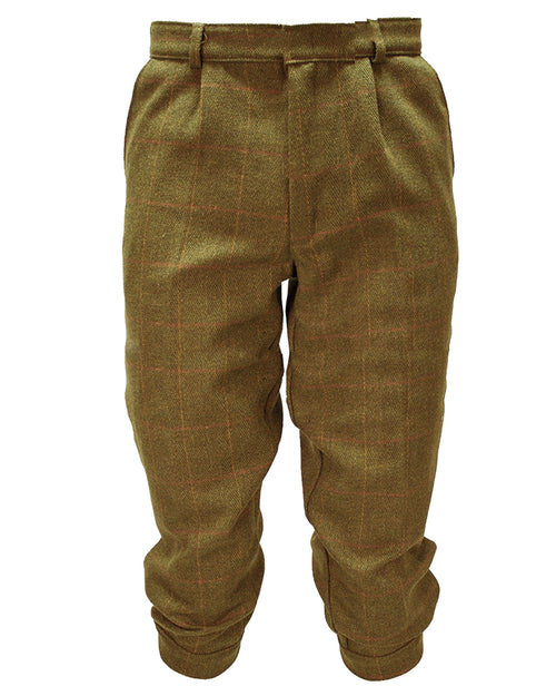 Regents View Men Tweed Derby Breeks - Light Tweed