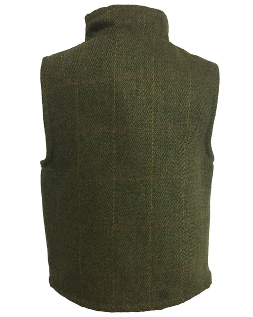Regents View Childrens Tweed Bodywarmer - Dark Tweed