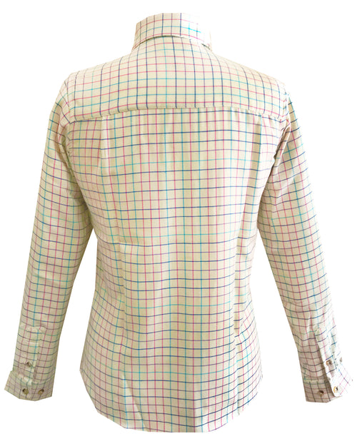 Regents View Women Superior Quality Long Sleeve Shirt - SHP2 Cream