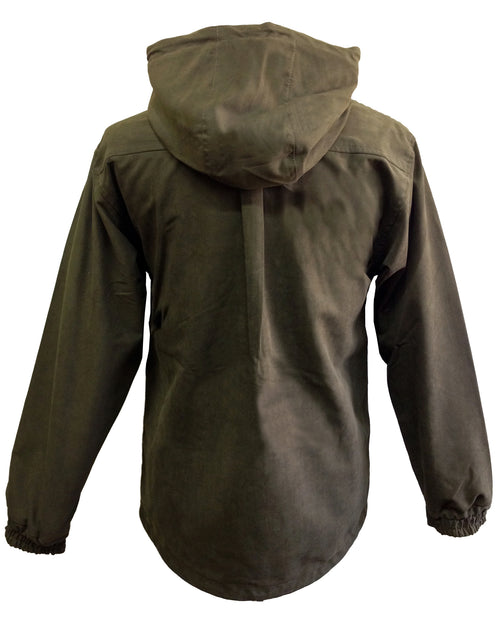 Regents View Mens Smock Premium Waterproof Jacket - Olive
