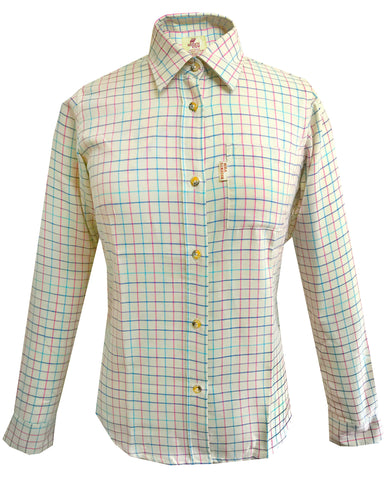 Regents View Women Cotton Shirt - Pink