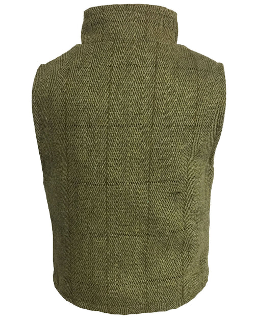 Regents View Childrens Tweed Bodywarmer - Light Tweed