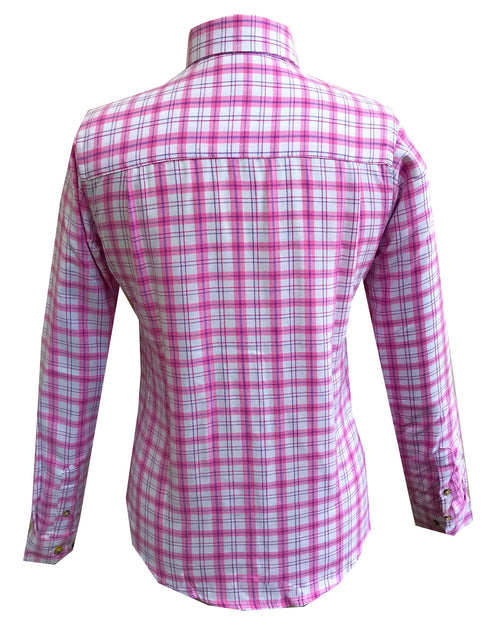 Regents View Women Superior Quality Long Sleeve Shirt - SHP1 Pink