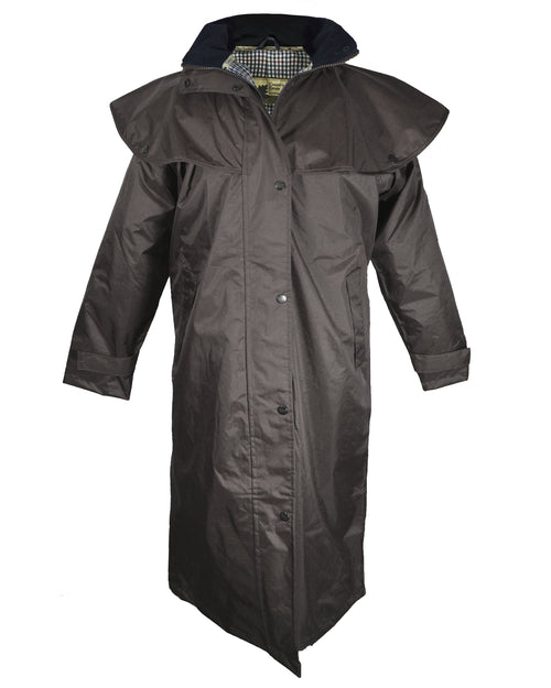Champion Sandringham Womens Waterproof Full-Length Coat - Brown