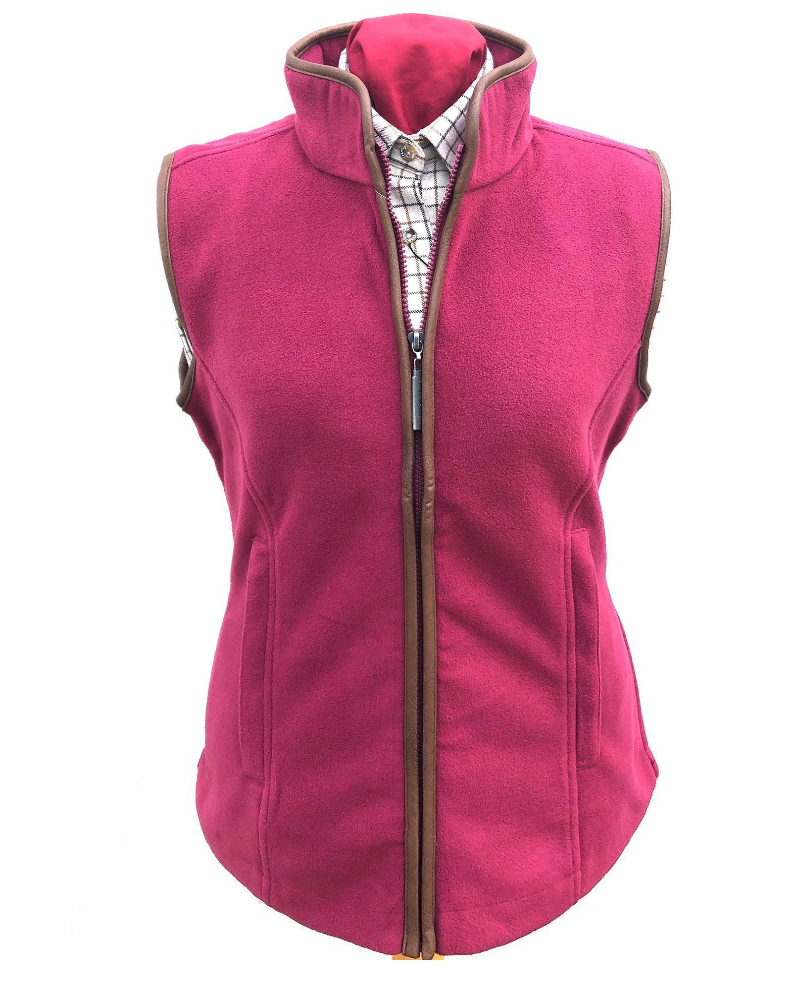 Regents View Women Fleece Bodywarmer - pink