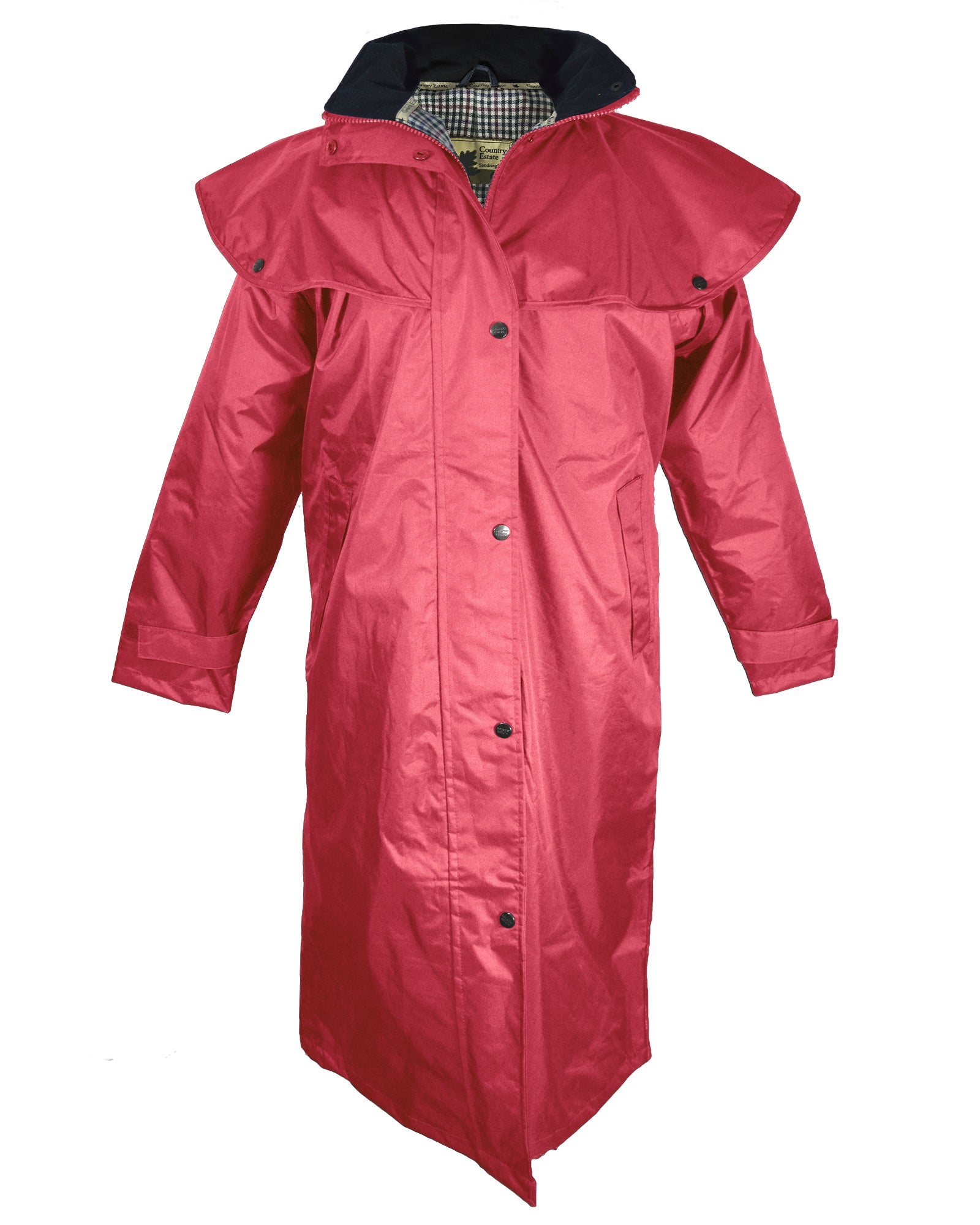Champion Sandringham Womens Waterproof Full-Length Coat - Pink