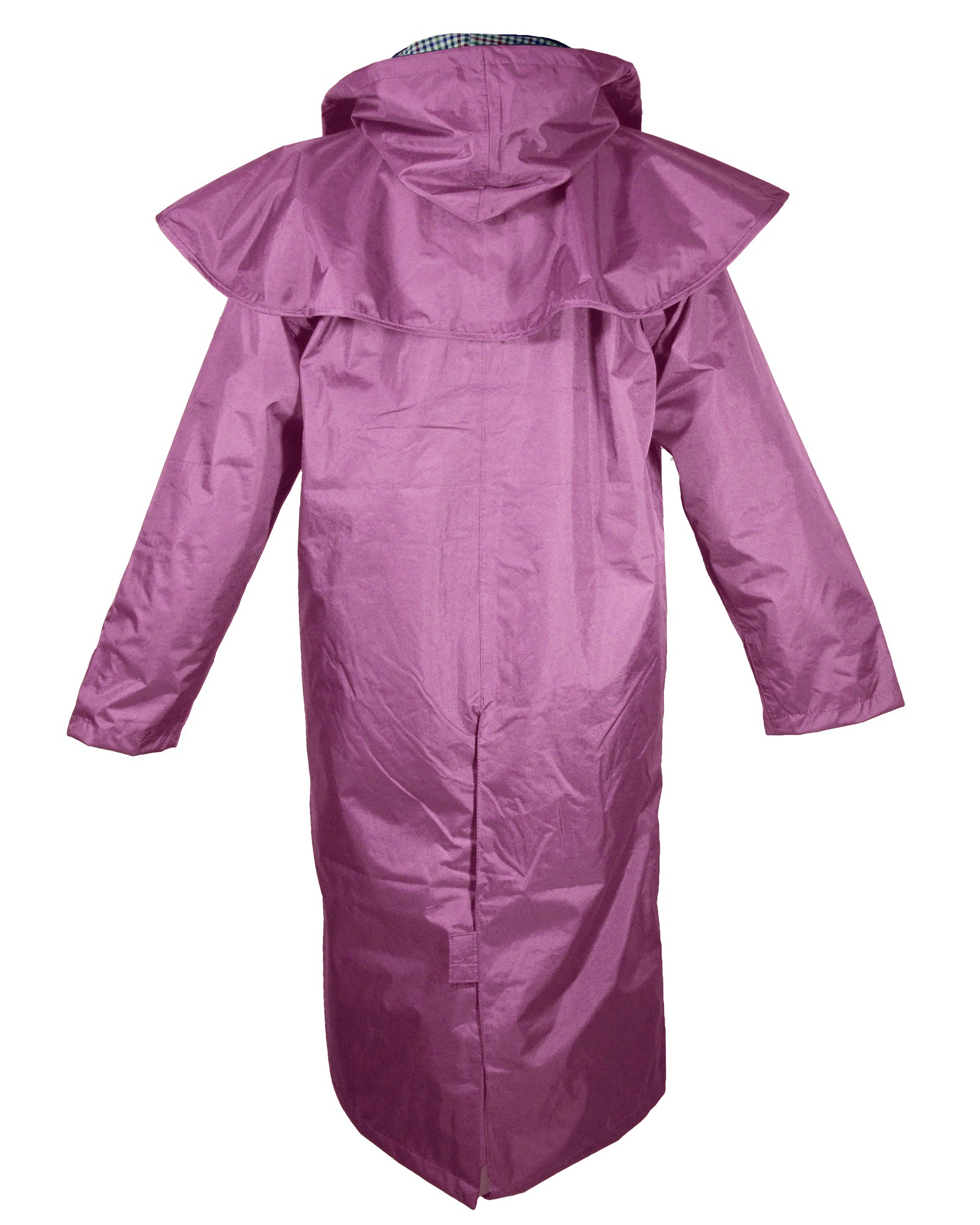 Champion Sandringham Womens Waterproof Full-Length Coat - Purple