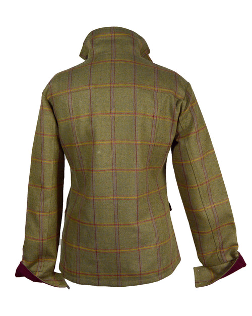 Regents View Stylish Women Tweed Jacket - Yellow