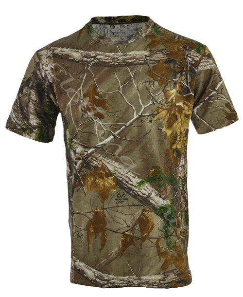 Men's Camouflage T-Shirt- Short Sleeve