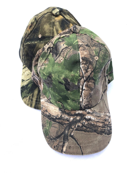 Camouflage Baseball Caps - One Size