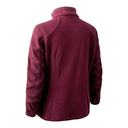 Deerhunter Lady Josephine Fleece Jacket - Burgundy