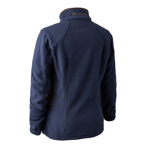 Deerhunter Lady Josephine Fleece Jacket - Navy