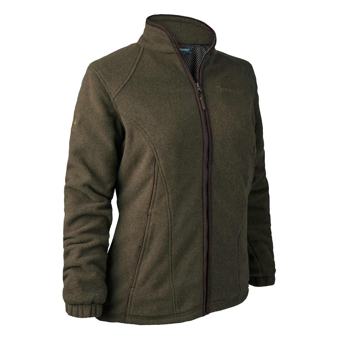 Deerhunter Lady Josephine Fleece Jacket ( with membrane) - Graphite Green