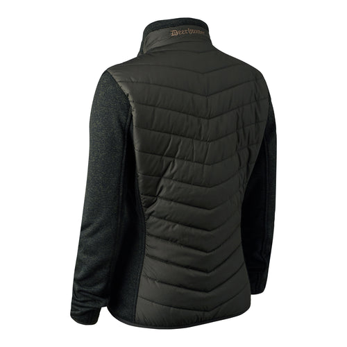 Lady Caroline Padded Jacket with knit - Timber