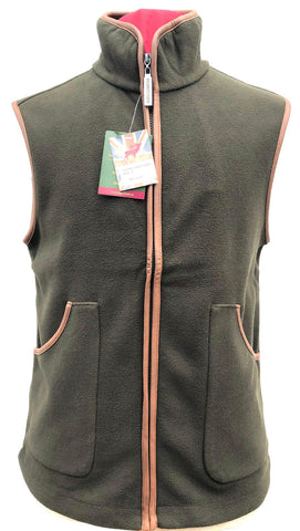 Regents View childrens Fleece Bodywarmer - olive