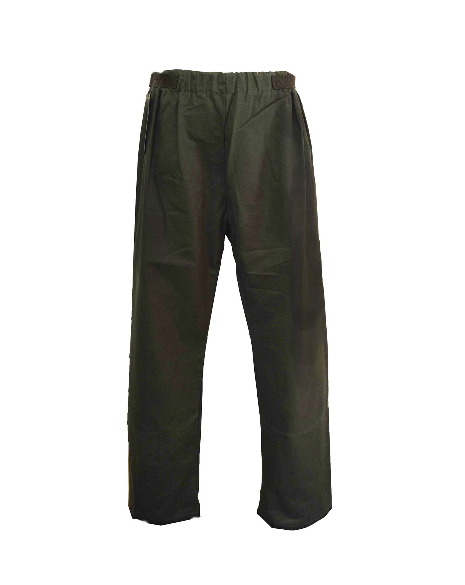 Regents View 100% Waxed Cotton Over Trouser - Olive