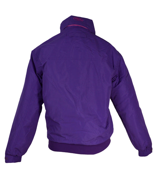 Regents View Womens Fleece Lined Bomber Jacket - Purple